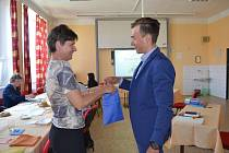 Včera maturoval i devatenáctiletý cyklokrosař Adam Ťoupalík ze 4. L