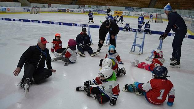 Z pondělního Týdne hokeje v Táboře.