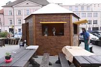 Taverna na Žižkově náměstí.