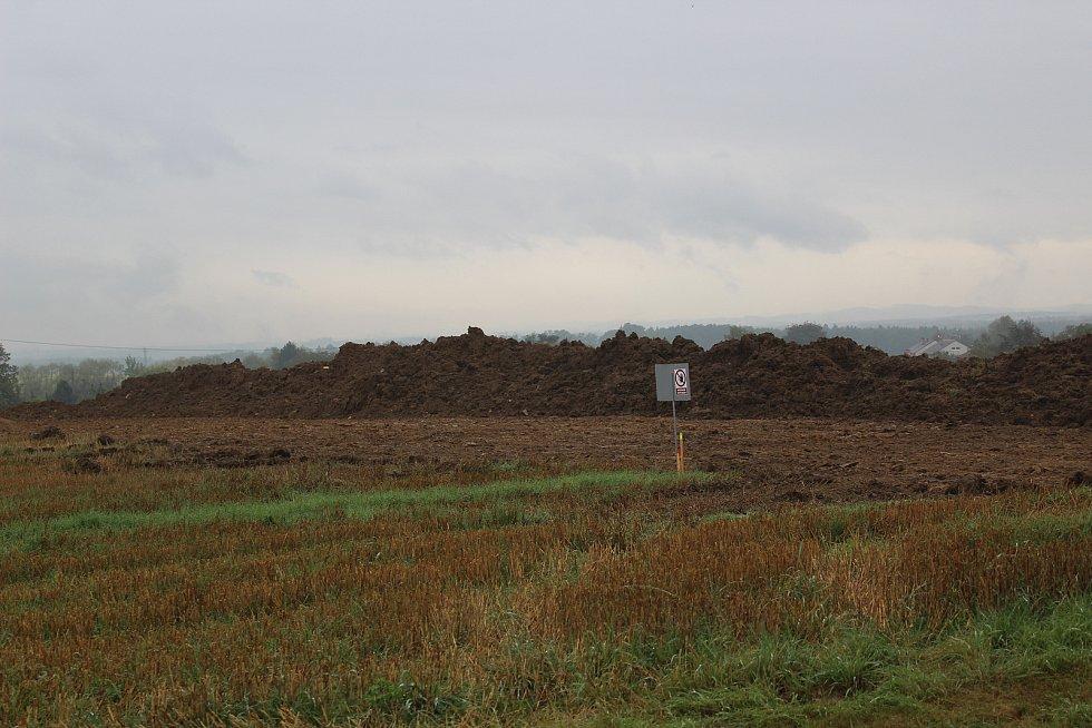 Ředitelství silnic a dálnic zahájilo stavbu obchvatu Chýnova.