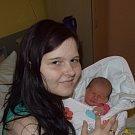 Eliška Suchá z Tábora. Prvorozená dcera rodičů Heleny a Vojtěcha přišla na svět 14. ledna v 17.42 hodin. Její váha po  porodu byla 2970 gramů a míra 49 cm.