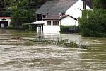 Povodeň, bechyňské Zářečí