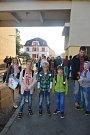 První školní den na ZŠ Husova v Táboře.