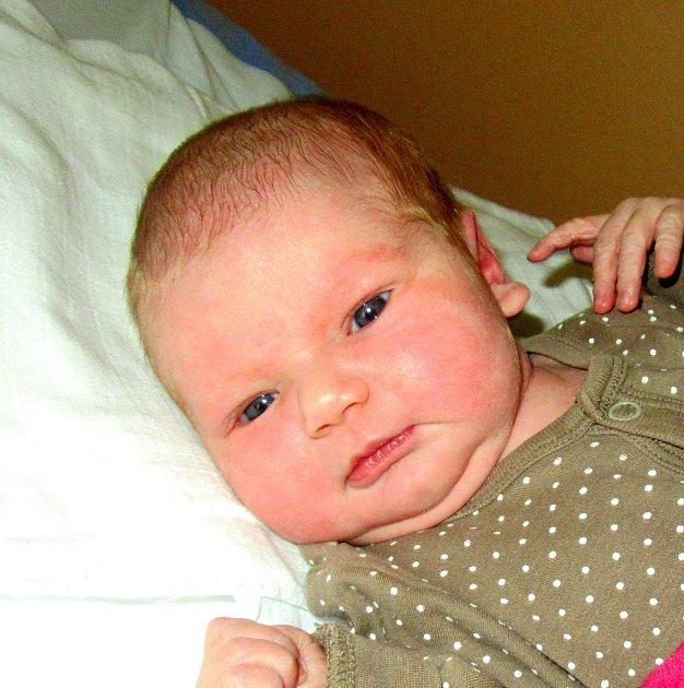 Anna Krejčí z Košic. Na svět vykoukla 1. února v 15.35 hodin jako  první  miminko rodičů Lenky  a  Lukáše. Po  narození  vážila  3920 gramů  a měřila 53 cm.