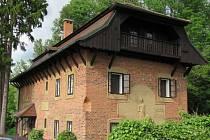 Letní sídlo a ateliér Františka Bílka v Chýnově.