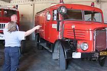 Tento víkend vás čeká i propagační jízda historickými hasičskými vozy.