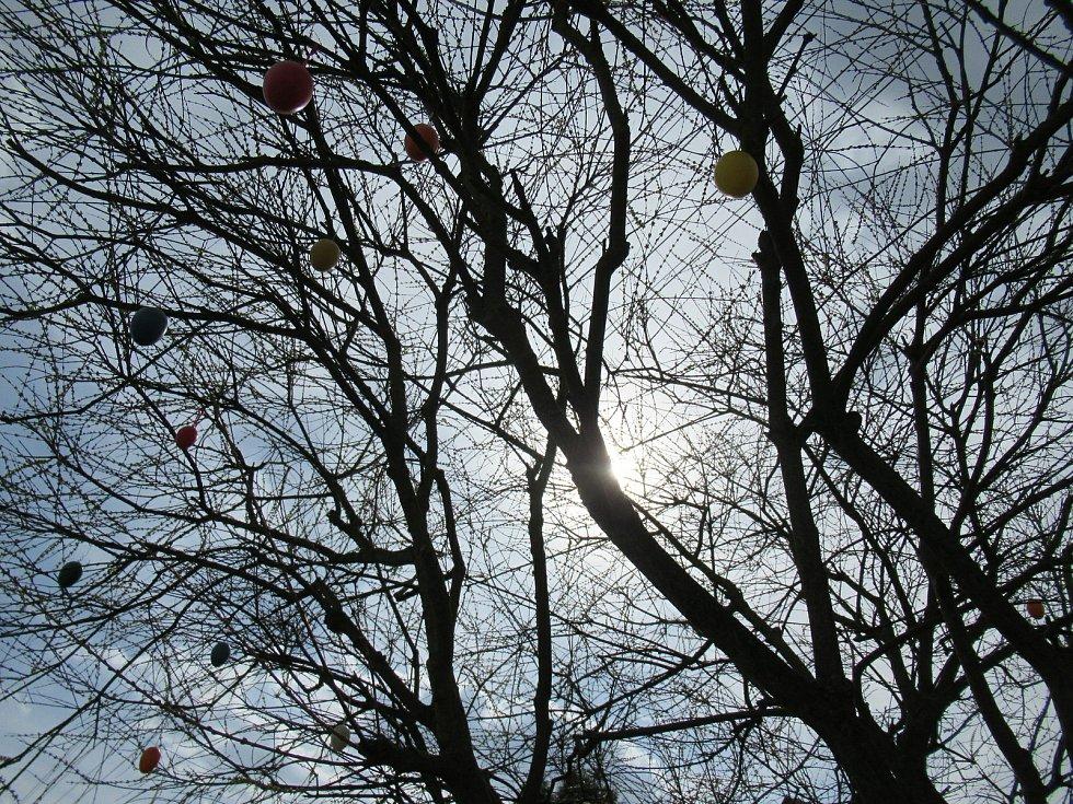 Velikonoce 2021 v Dlouhé Lhotě na Táborsku.