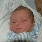 Daniel Pejša z Vlašimi. Na svět přišel 14. října ve 3.50 hodin. Vážil 3360 gramů, měřil 51 cm a doma už má brášku Dominika, které mu je tři a půl roku.
