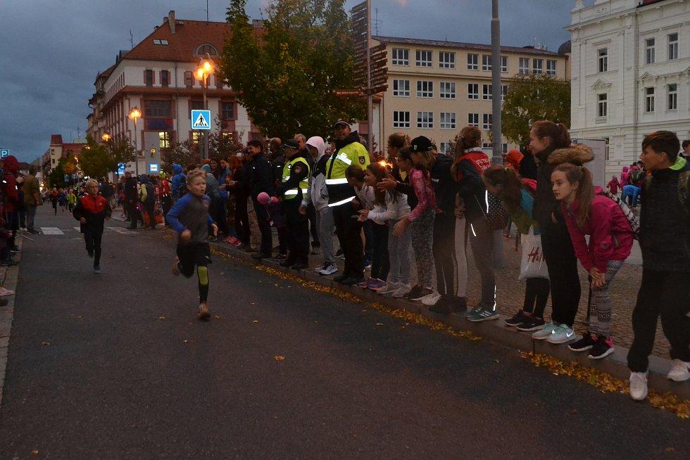V Táboře se ve čtvrtek konal tradiční večerní  běh.