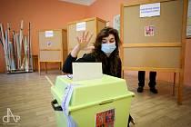 Volby v Táboře - ZŠ Mikuláše z Husi a zemědělka.