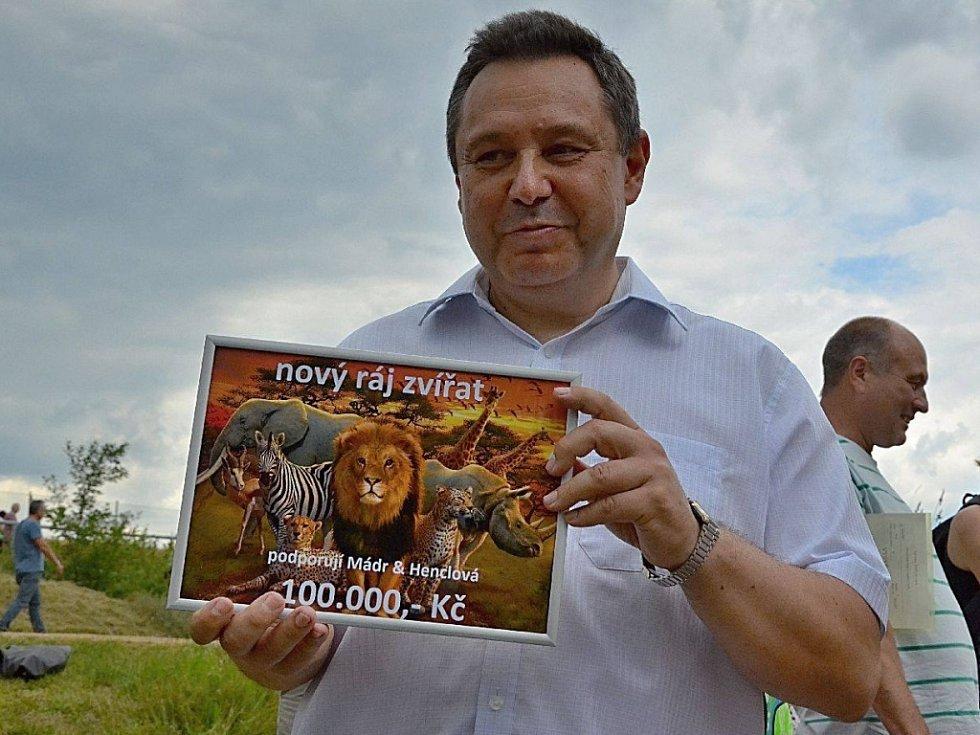 Ředitel Zoo Tábor Evžen Korec.