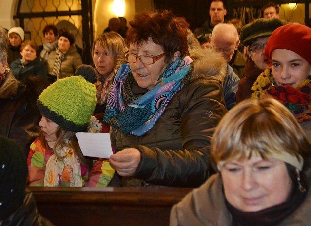 Adventní koncert v klokotském kostele Nanebevzetí Panny Marie.