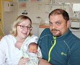 Filip Stručovský z Bechyně.  Narodil se 3. dubna v 9.27 hodin rodičům Ivetě a Markovi jako jejich první dítě. Vážil 2950 gramů a měřil 48 cm.
