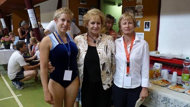 Gymnastky s Věrou Čáslavskou