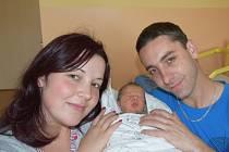 Jiří Vítek z Tučap. Rodiče Petra a Jan se 10. září patnáct minut po devatenácté hodině dočkali svého prvorozeného syna. Malý Jiřík po narození vážil 3160 gramů a měřil 47 cm.