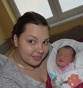 Laura Dolejšová z Tábora.  Prvorozená dcera rodičů Marcelya Josefa přišla na svět 27. května v 16.35 hodin. Vážila 3170 gramůa měřila 48 cm.