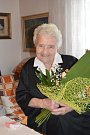 Anna Jordáková oslavila sto let.