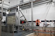 Madeta v Plané zprovoznila novou moderní sýrárnu.