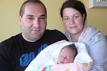 ALŽBĚTA TEPEROVÁ –  LALIKOVÁ  Z TÁBORA. Narodila se 8. května ve 12.23 hodin. Vážila 3170 g, měřila 48 cm a  má brášku Jakuba (3,5).