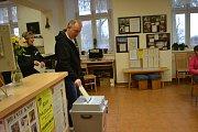 Prezidentské volby v Chýnově.