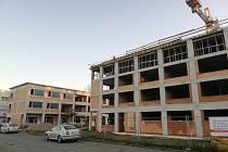 Stavba táborského centra pro seniory běží podle plánu.