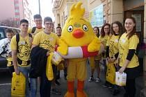 Studenti z Tábora vybrali do kasiček přes 17 tisíc korun.