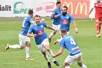 FC MAS Táborsko - FK Pardubice 3:3.