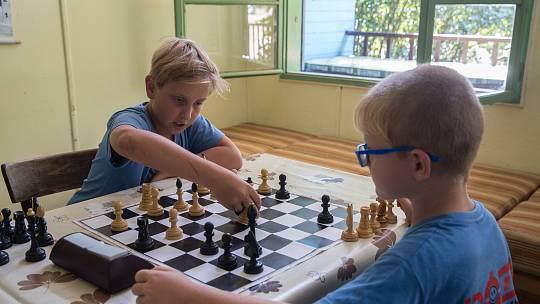 Šachový tábor nadchne přemýšlivé děti. Ilustrační foto.