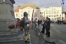 Setkání připomnělo, že 11. října 1424 zemřel nedaleko Přibyslavi v místě kdysi zvaném Šenfeld Jan Žižka z Trocnova a Kalicha, nejslavnější český vojevůdce a hejtman města.