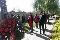 Uctění památky obětí II. světové války se letos uskutečnilo v nestandardním režimu.