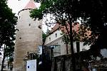Gotický hrad v Soběslavi.