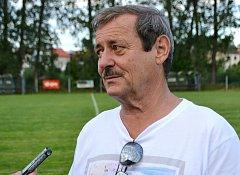 Zkušený trenér Sokola Sezimovo Ústí Stanislav Mansfeld byl po nedělní premiéře hodně smutný.