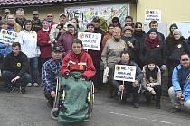 Občané protestují proti úložišti