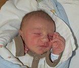 David Cikánek z Přeborova. Na svět přišel 10. května v 0.18 hodin s váhou 3360 gramů a mírou rovných 50 cm. Pro rodiče Andreu a Davida je prvním dítětem.