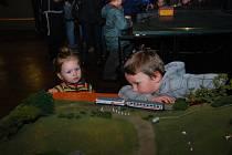 Výstava vláčků v Miléniu přilákala 800 návštěvníků