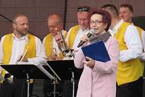 Martina Suchá zahajovala turistickou sezonu v Táboře 4. května na festivalu Toulavafest.