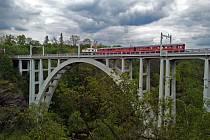 Nostalgické jízdy Křižíkovou elektrickou železnicí.