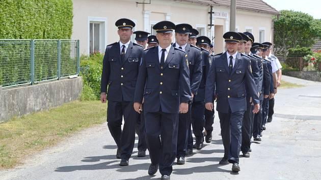 Dobroničtí hasiči oslavili v sobotu 130 let od založení sboru.