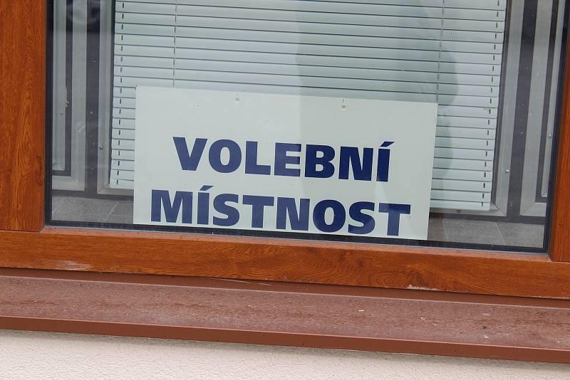 Krajské volby v Bělči.
