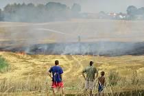 Hasiči v posledních týdnech krotí požáry ve volné přírodě velmi často.