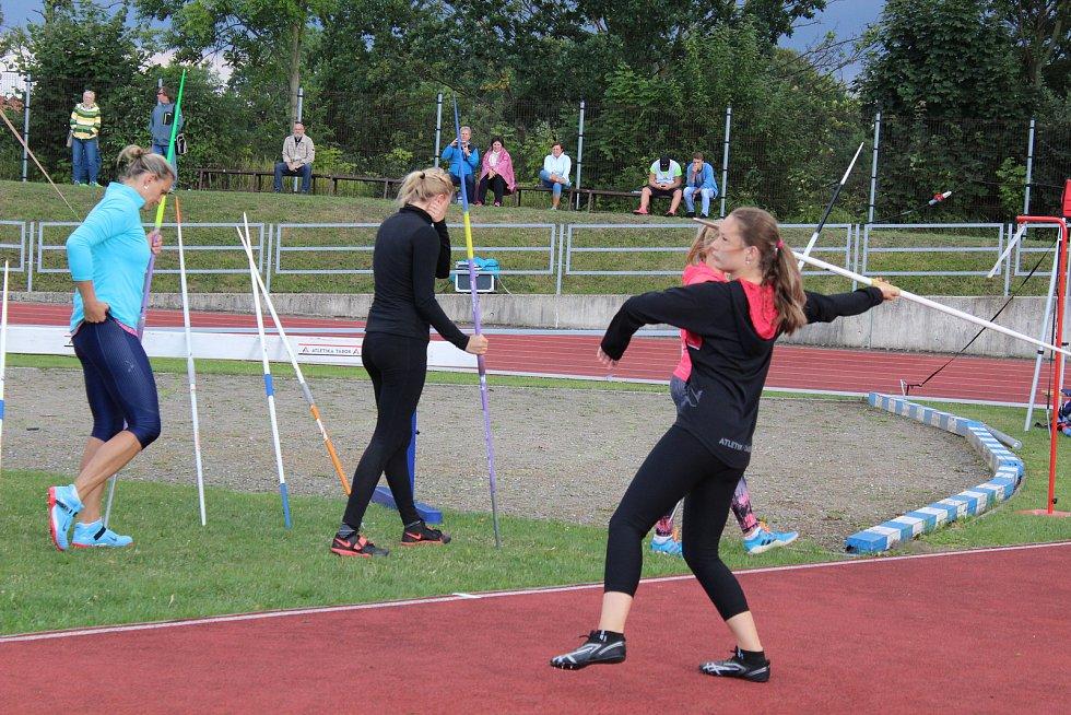 Tábor fandil již 56. ročníku Velké ceny Tábora, kde se opět blýskla i Barbora Špotáková.
