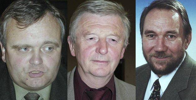 František Dědič, Jan Babor, Pavel Eybert