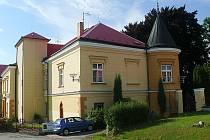 Tučapský zámek.