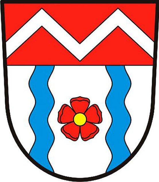 Znaky obcí Košice a Meziříčí.