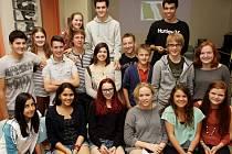 Osmnáct studentů ze zahraničí pobývalo díky Rotary clubu v Táboře.