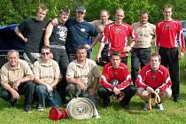 Rok 2009 -  soutěžní družstvo SDH Dlouhá Lhota