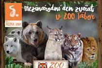 Ilustrační foto Mezinárodní den zvířat v Zoo Tábor.
