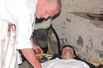 Návštěvníci na vlastní oči ve věži Kotnova uvidí, jak  probíhalo léčení zraněných za třicetileté války.