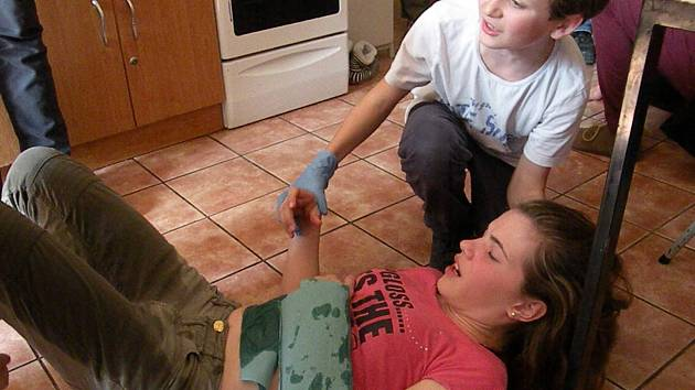 Školáci dva dny trénovali první pomoc.