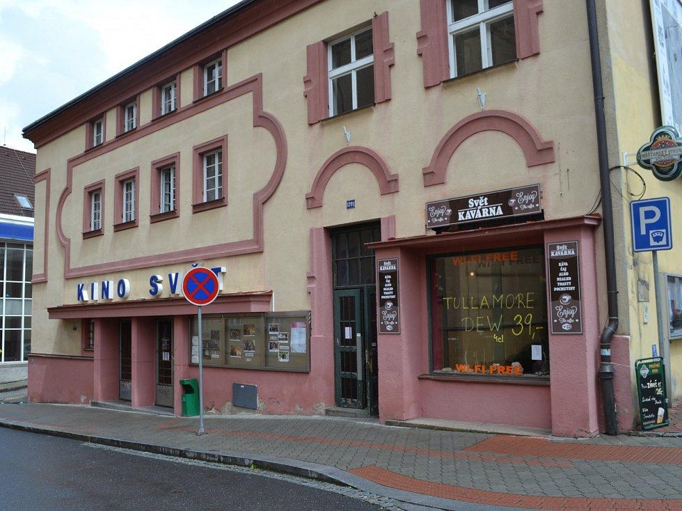 Kino Svět v Táboře.